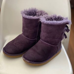 Ugg Bailey Boot - purple